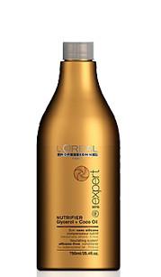 Maitinamasis sausų ir nualintų plaukų kondicionierius L'oreal Professionnel Nutrifier 750 ml-0
