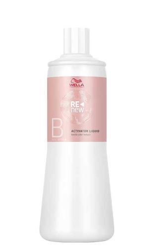 Švelni plaukų spalvos šalinimo emulsija Wella ReNew Activator Liquid 500 ml-0