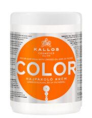 Kaukė dažytiems plaukams Kallos KJMN Color 1000 ml-0