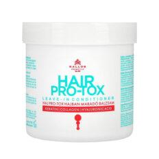 Plaukus stiprinantis ir maitinantis kondicionierius KALLOS Cosmetics Hair Pro-Tox Leave-in Conditioner 250 ml