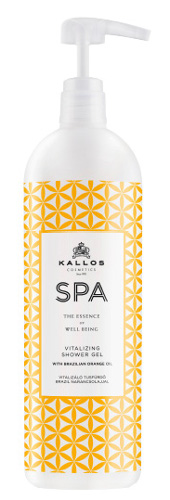 Dušo želė Kallos SPA Vitalizing Orange 1000 ml-0