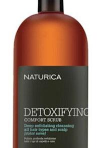 Drėkinantis ir valantis plaukų ir galvos odos šveitiklis, visų tipų plaukams su spalvos apsauga Rica Naturica Detoxifying Comfort Scrub 200 ml-0