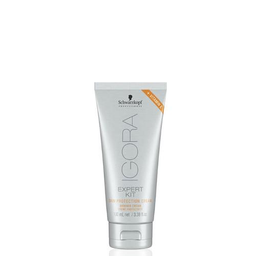 Apsauginis odos kremas nuo dažų ir kitų cheminių priemonių Schwarzkopf IGORA Expert Kit Skin Protection Cream 100 ml-0