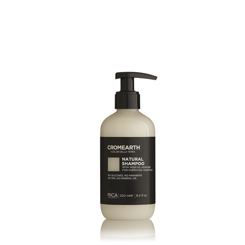 Natūralus, plaukus atstatantis šampūnas RICA Cromearth I Colordi Della Terra Natural 250ml-0