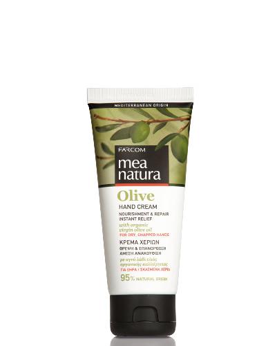 Rankų kremas labai sausai odai FARCOM Mea Natura Olive Hand Cream 100 ml-0