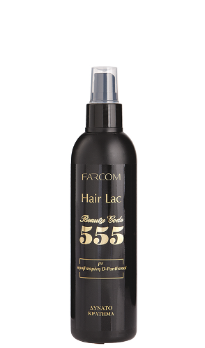 Plaukų lakas be aerozolio FARCOM Beauty Code 555 Hair Lac 250 ml -0