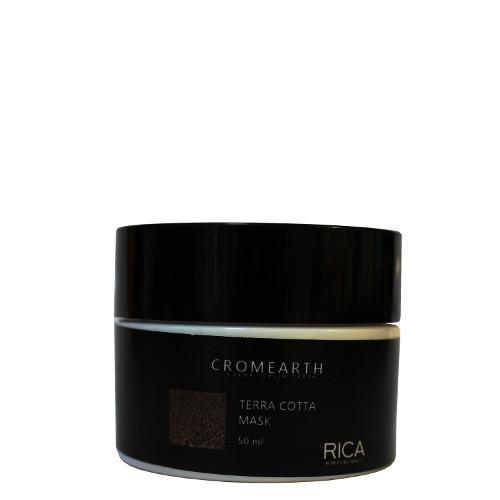 Medaus atspalvį suteikianti, dažanti kaukė plaukams RICA Cromearth I Colordi Della Terra Cotta 50 ml-0