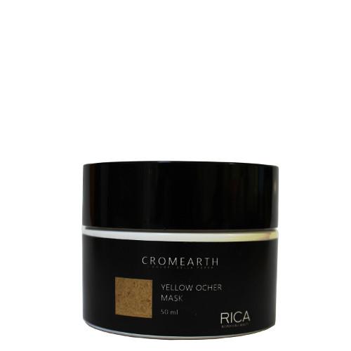 Dažanti kaukė labai šviesiems plaukams RICA Cromearth I Colordi Della Terra Yellow Ocher 50 ml-0
