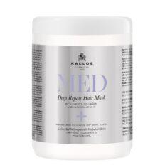 Stipriai atstatanti kaukė pažeistiems plaukams Kallos Med Deep Repair Mask 500 ml-0