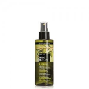 Purškiamas plaukų ir kūno aliejus Farcom Mea Natura Olive Dry Oil Intense Hydration Hair & Body 160 ml-0