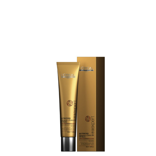 Nenuplaunamas plaukų galiukų kremas L'oreal Professionnel Nutrifier DD Balm 40 ml-0