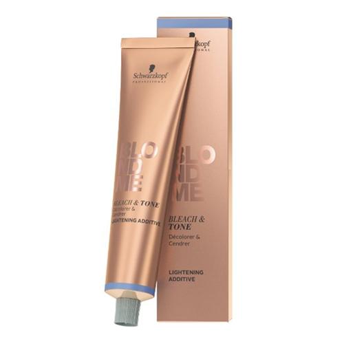 Schwarzkopf BlondMe Bleach & Tone Lightening Additive Cool Additive balinimo ir tonavimo kremas plaukams 60 ml