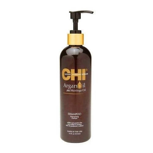 Šampūnas su argano ir moringų aliejumi CHI Argan Oil Shampoo 340ml-0