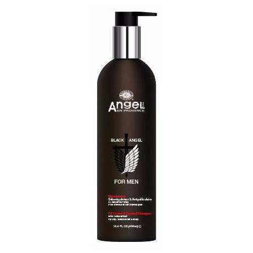 Šampūnams plaukams nuo pleiskanų Angel Mens Black Angel Oil Control & Dandruff 400ml-0