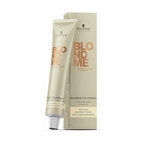 Schwarzkopf BlondMe Blonde Coloring saitus striprinantis plaukų dažymo kremas 60ml-0