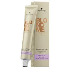 Saitus stiprinantis plaukų šviesinamasis kremas BlondMe Blonde Lifting 60ml-0