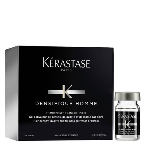 Ampulės skatinančios plaukų augimą Kerastase Densifique Homme 30x6ml-0