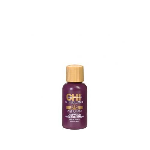 Nenuplaunamas plaukų serumas CHI Deep Brilliance Olive&Monoi 15ml-0