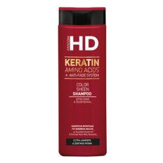 Dažytų plaukų šampūnas Farcom HD Keratin Amino Acids + Anti - Fade System 400ml-0