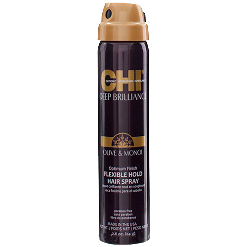 Lanksčios fiksacijos plaukų lakas CHI Deep Brilliance Flexible Hold Hair Spray 74g-0