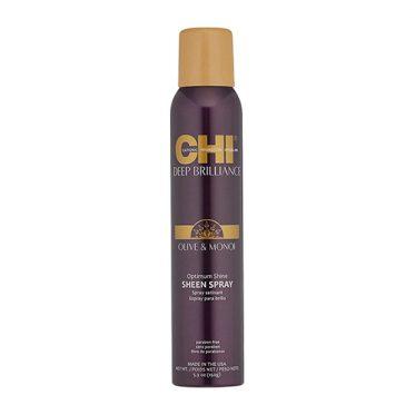 Purškiamas plaukų blizgesys CHI Deep Brilliance Olive&Monoi Sheen Spray 150g-0