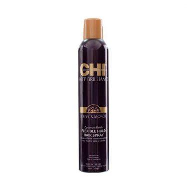 Lanksčios fiksacijos plaukų lakas CHI Deep Brilliance Flexible Hold Hair Spray 284g-0