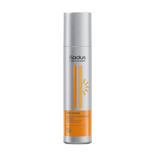 Nenuplaunamas kondicionierius, puoselėjantis saulėje pažeistus plaukus Kadus Sun Spark Leave-In Conditioning 250 ml-0