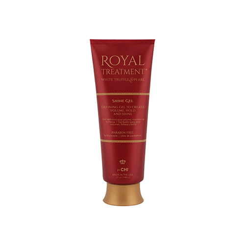 Vidutinės fiksacijos plaukų gelis CHI Royal Treatment Shine Gel 148ml-0