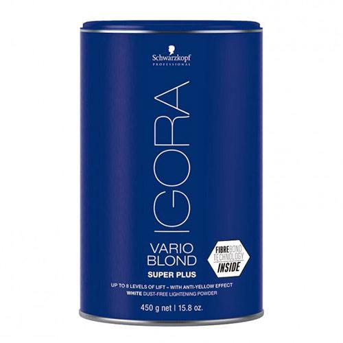 Plaukų šviesinimo milteliai Schwarzkopf Igora Vario Blond Super Plus 450g-0