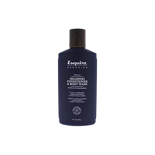 Plaukų šampūnas, kondicionierius, kūno prausiklis Esquire Grooming 3 in 1 89ml-0