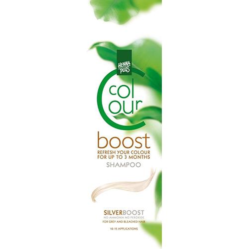 Dažantis plaukų šampūnas Henna Plus Colour Boost Silver 200ml-0