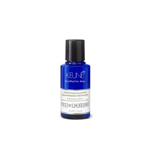 Plaukus striprinantis vyriškas plaukų šampūnas 1992 by J.M. Keune Fortifying Shampoo 50ml-0