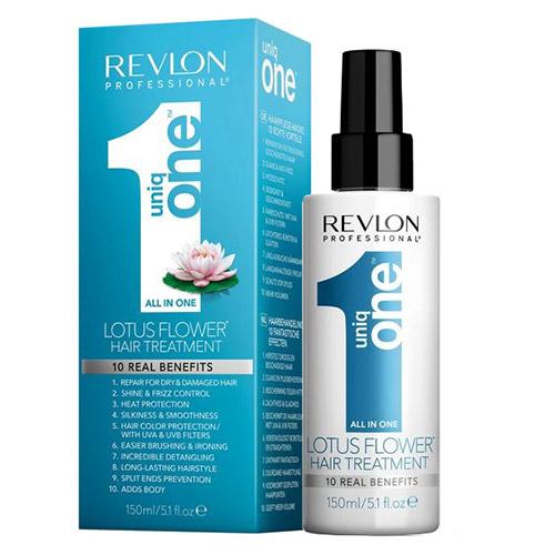 Purškiama plaukų kaukė Revlon Uniq One Flor De Loto 150ml-0