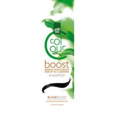 Dažantis plaukų šampūnas Henna Plus Colour Boost Black 200ml-0