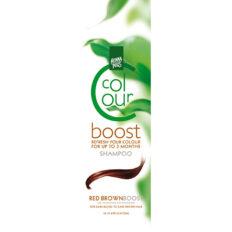 Dažantis plaukų šampūnas Henna Plus Colour Boost Red Brown 200ml-0