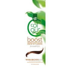 Dažantis plaukų šampūnas Henna Plus Colour Boost Warm Brown 200ml-0