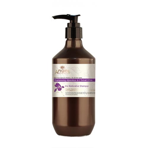 Atstatomasis plaukų šampūnas Angel Iris Restorative Shampoo 400ml-0