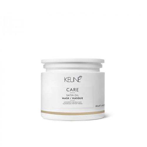 Kaukė sausiems plaukams Keune Care Satin Oil Masque 200ml -0