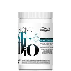Šviesinimo milteliai L'oreal Studio Blond 6 Freehand Techniques Pro Keratin (6lygiai) 360g-0