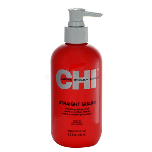 Tiesinamasis kremas plaukams CHI Straight Smoothing Styling Cream 251ml-0