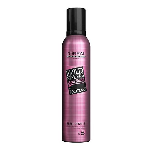 Purškiama pudra-putos plaukų apimčiai L'Oreal Wild Stylers 60's Babe Tecni.Art Rebel Push-Up 250ml-0