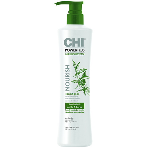 Drėkinantis kondicionierius CHI PowerPlus Hair Renewing System Nourish Moisturizing Conditioner Therapy 946ml-0