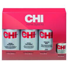 Plaukų priemonių rinkinys CHI HomeStylist Infra 4vnt 355+59ml-0
