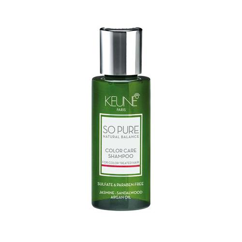 Dažytų plaukų šampūnas Keune So Pure Color Care Shampoo 50ml-0