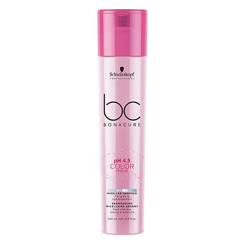 Šviesių plaukų šampūnas Schwarzkopf Professional BC Color Freeze Silver 250ml-0