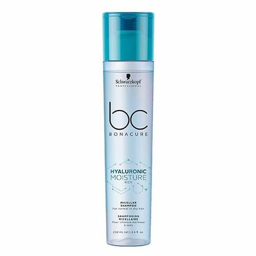 Drėkinamasis šampūnas plaukams Schwarzkopf Professional BC Hyaluronic Moisture Kick Shampoo 250ml-0