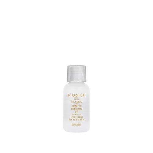 Šilkas plaukams ir odai Biosilk Silk Therapy with Coconut Oil Leave-In Treatment 15ml-0