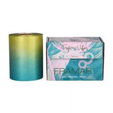 Folija ritinėlyje plaukų dažymui Framar Tropic Vibes Embossed Foil Medium