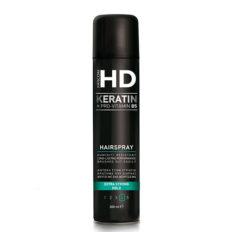 Stiprios fiksacijos plaukų lakas Farcom HD Keratin Extra Strong Hold Hairspray (4) 300ml