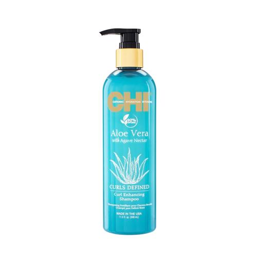 Plaukų šampūnas išryškinantis garbanas CHI Aloe Vera Defined Curl Shampoo 340ml